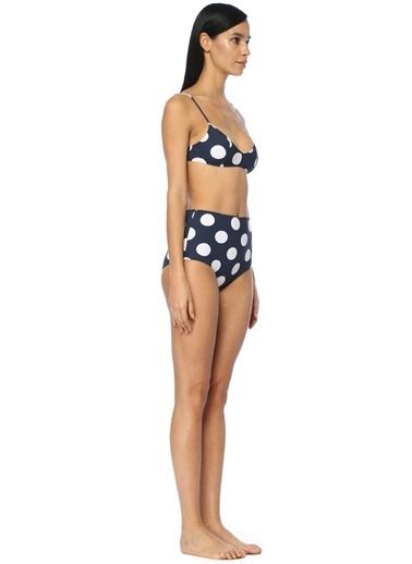 Araks Destekli Bikini Üstü Lacivert